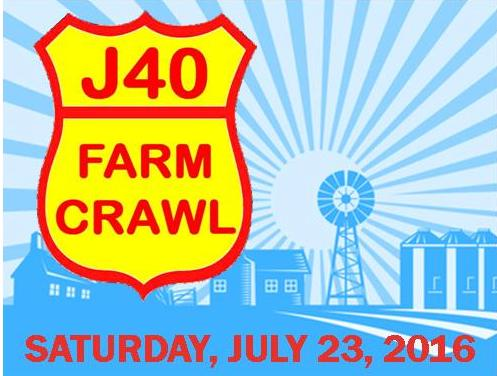 J40 Farm Crawl Saturday, July 23, 2016