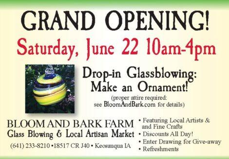 Grand Opening Saturday, June 22, 2019
