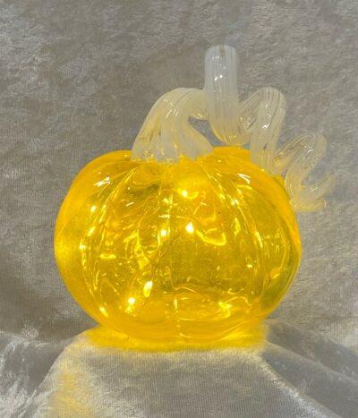 Pumpkin Gold/White Light